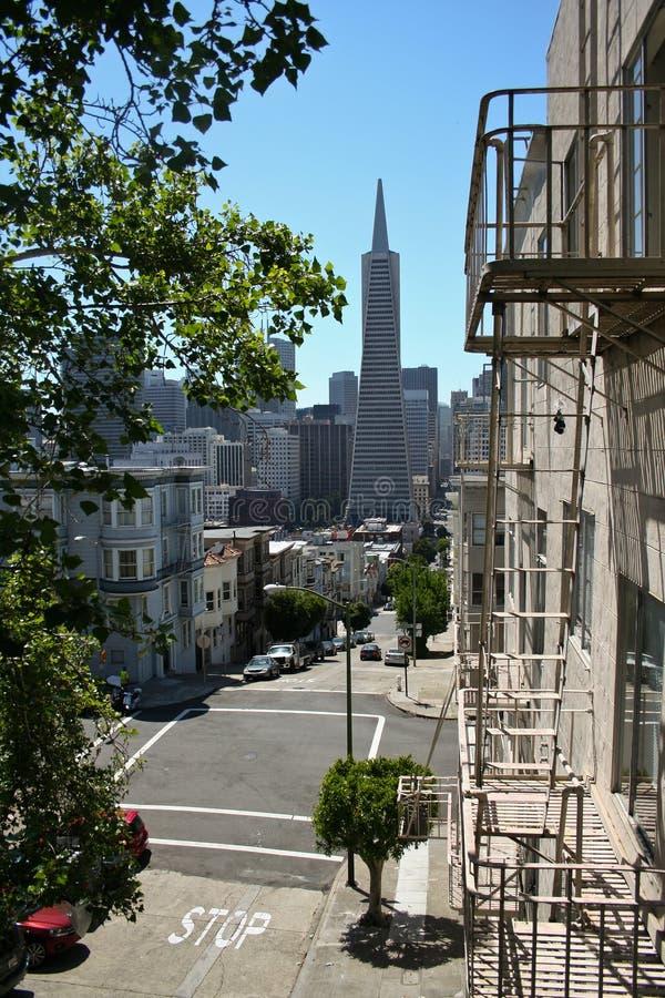 旧金山街道 免版税库存图片