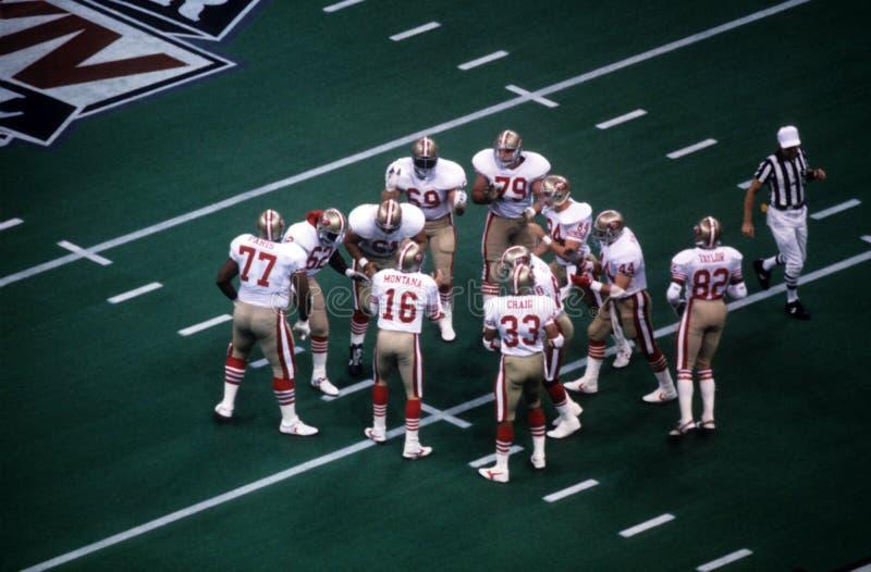旧金山49ers 库存图片