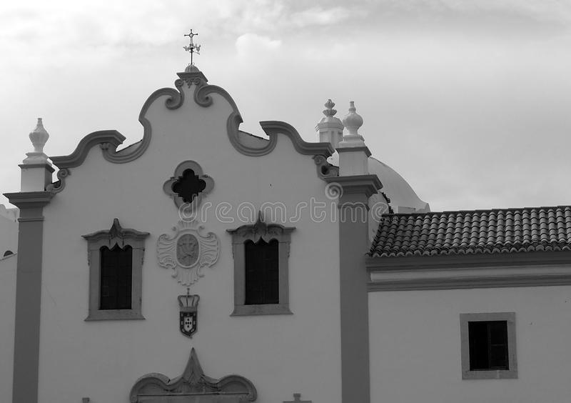 旧金山Igrega或教会在Loule葡萄牙 免版税图库摄影