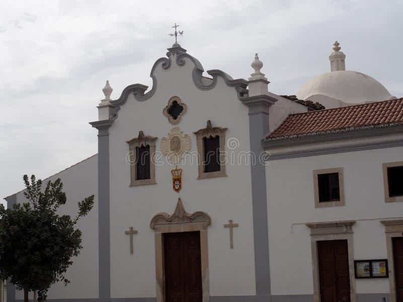旧金山Igrega或教会在Loule葡萄牙 免版税库存照片