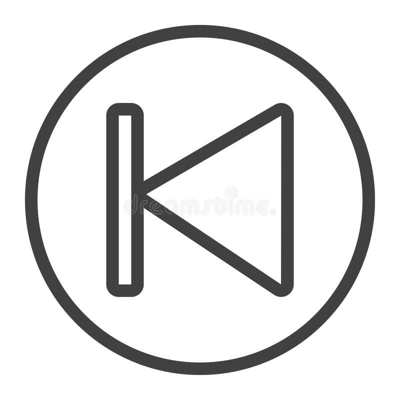 早先按钮线象、网和机动性,音频 皇族释放例证