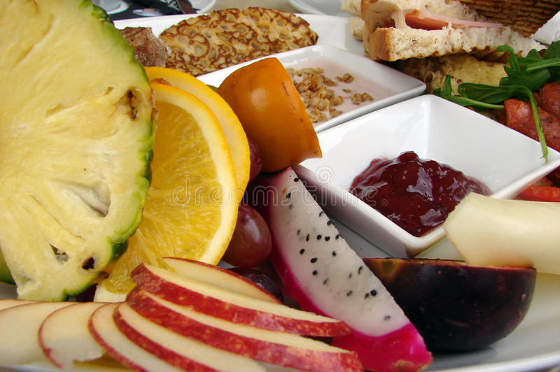 早午餐 免版税图库摄影