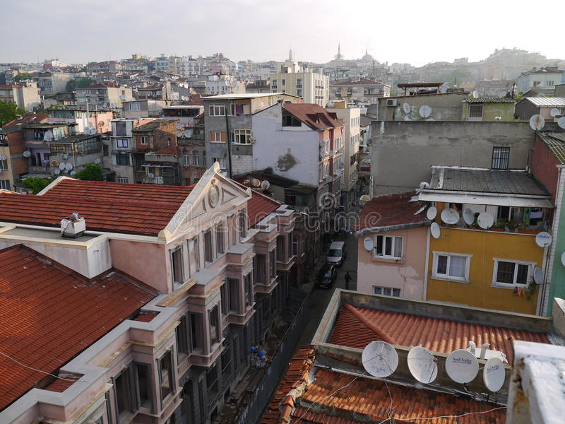 早晨伊斯坦布尔 图库摄影