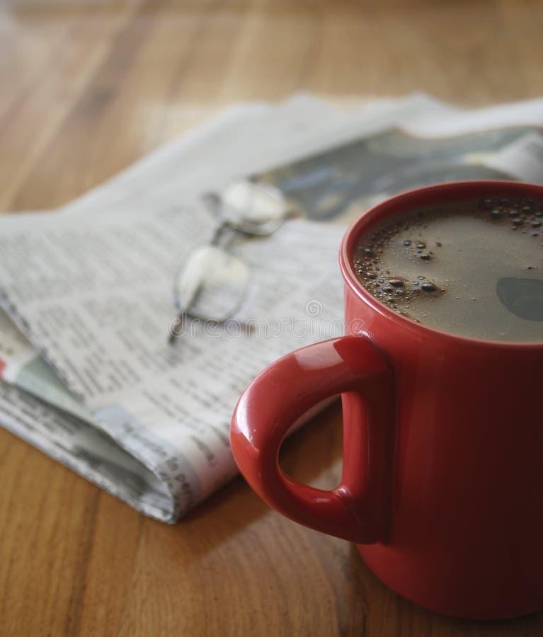 早晨咖啡 免版税库存照片