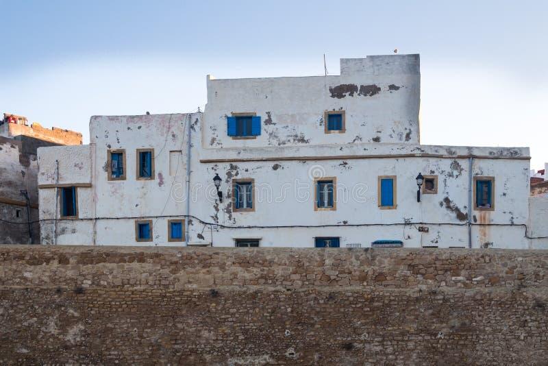 早晨在麦地那,萨菲,摩洛哥 免版税库存图片