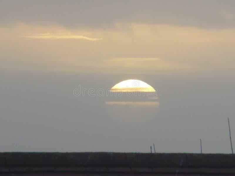 早晨太阳 免版税库存照片