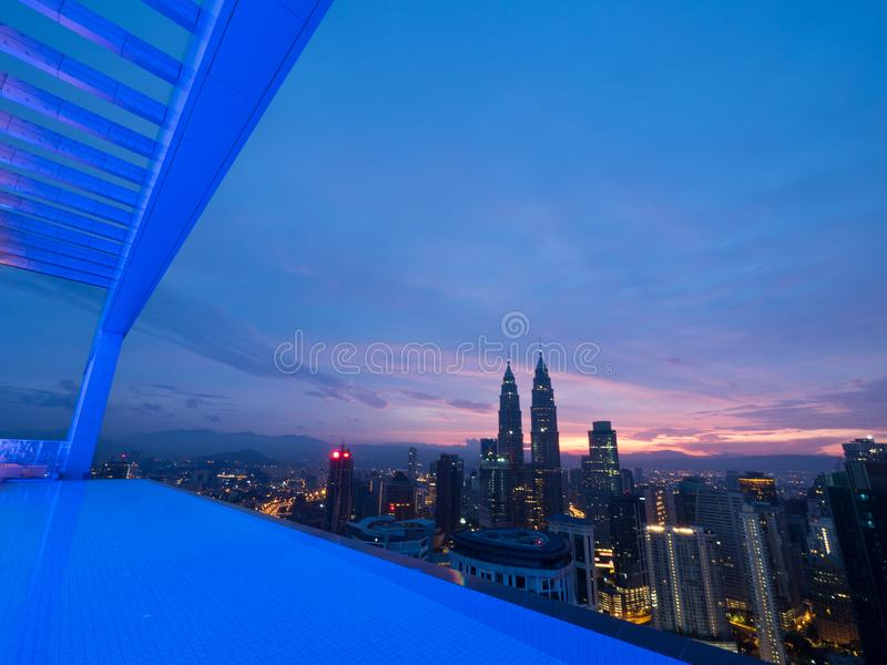 早晨好吉隆坡 免版税库存图片