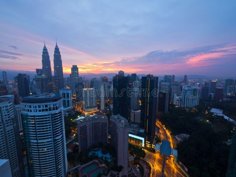 早晨好吉隆坡 库存照片