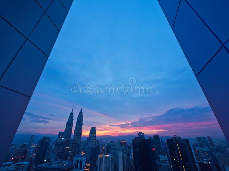 早晨好吉隆坡 库存图片