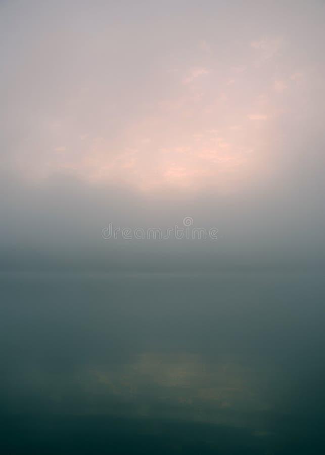 早晨柔和的淡色彩 免版税库存图片