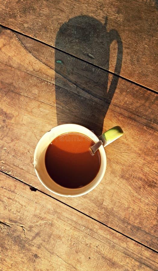 早晨,咖啡时间 库存图片