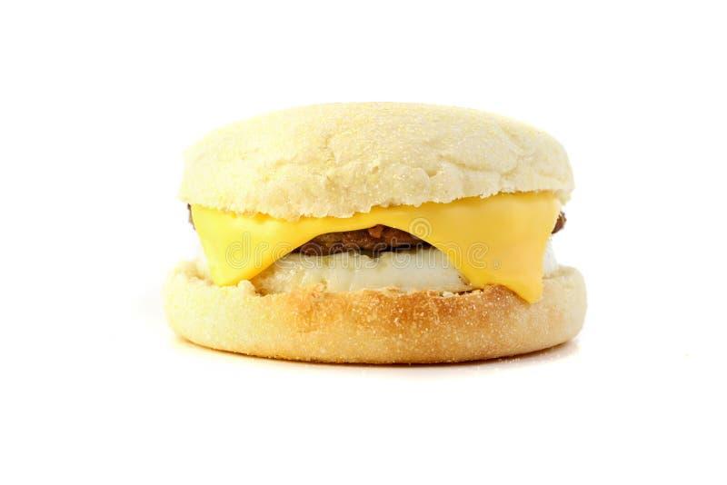 早餐三明治 免版税库存照片