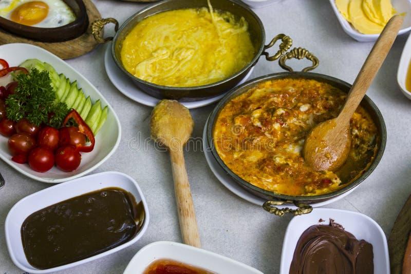 早餐土耳其 免版税图库摄影
