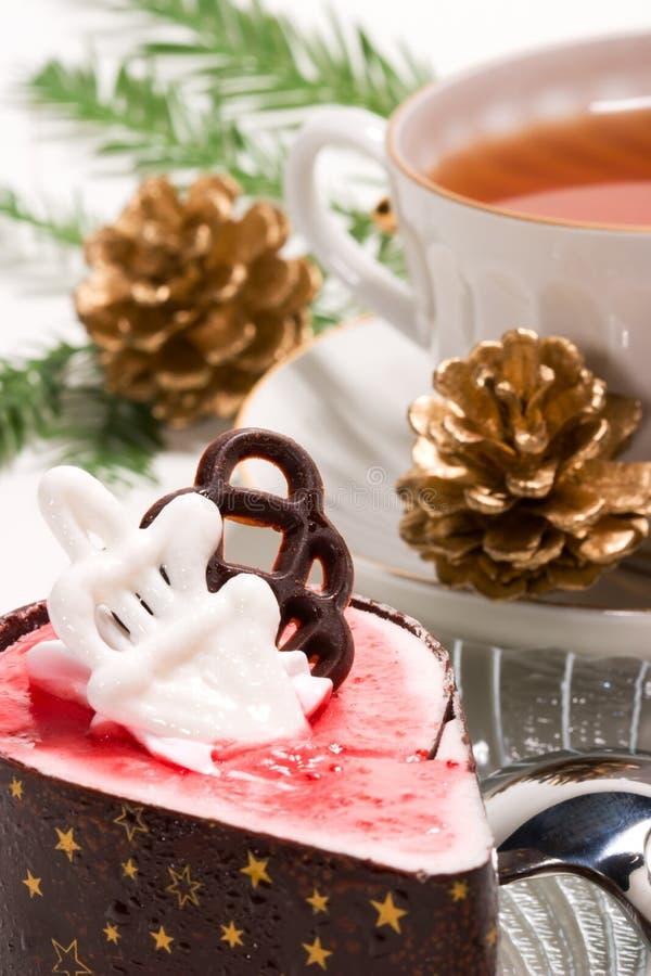 早餐圣诞节 免版税库存图片