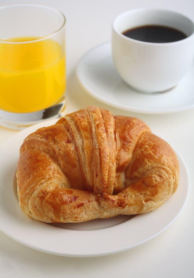 早餐大陆垂直 库存图片