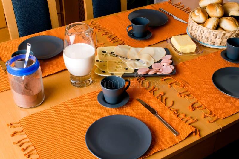 早餐德语 免版税库存图片
