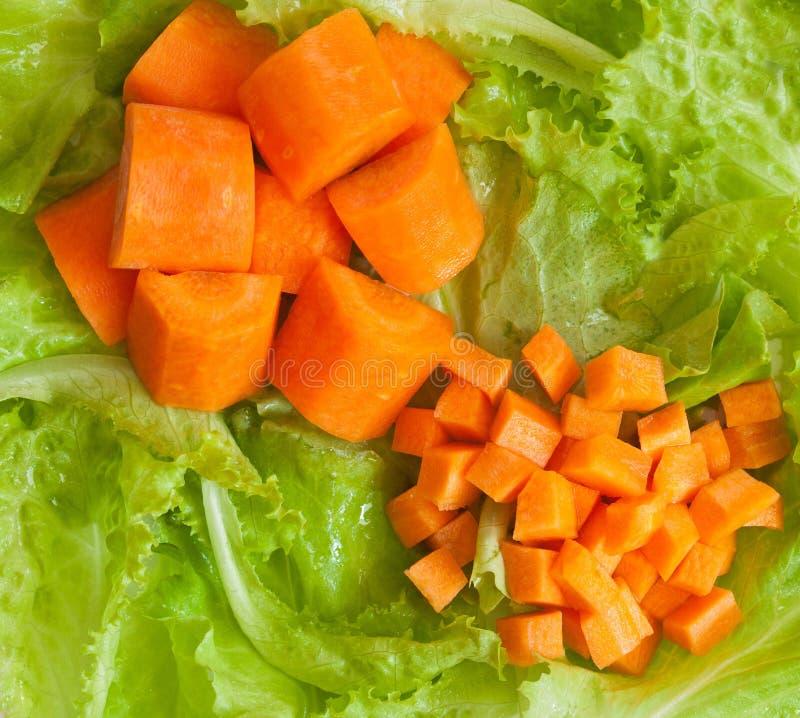 早餐新鲜蔬菜 免版税库存照片