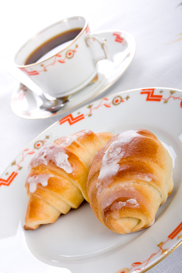 早餐早晨 免版税图库摄影