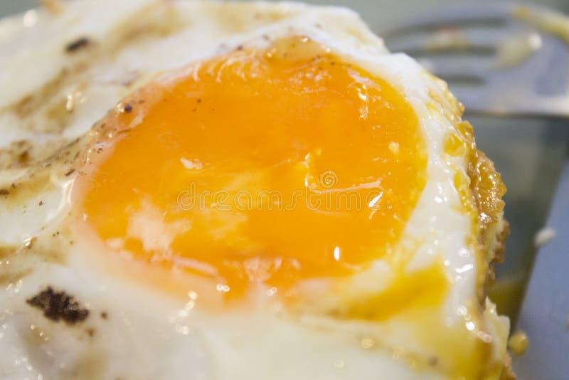 早餐用烟肉和鸡蛋 免版税库存照片