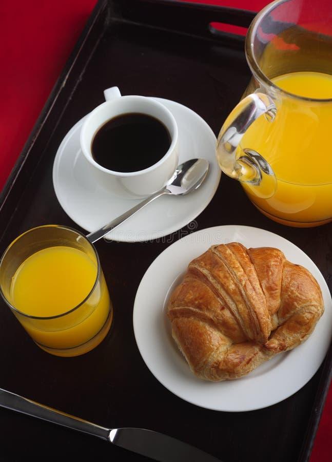 早餐盘 免版税库存照片