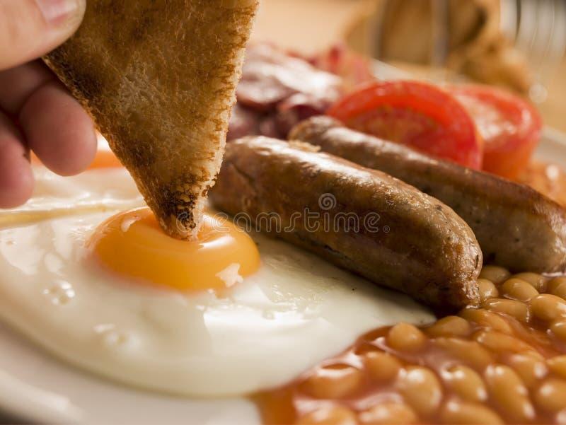 早餐英国充分 免版税图库摄影