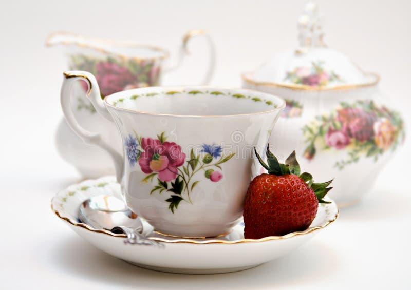 早餐茶 免版税库存照片