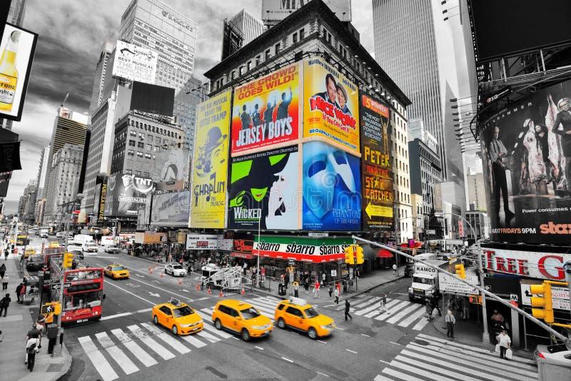 时代广场纽约 库存图片