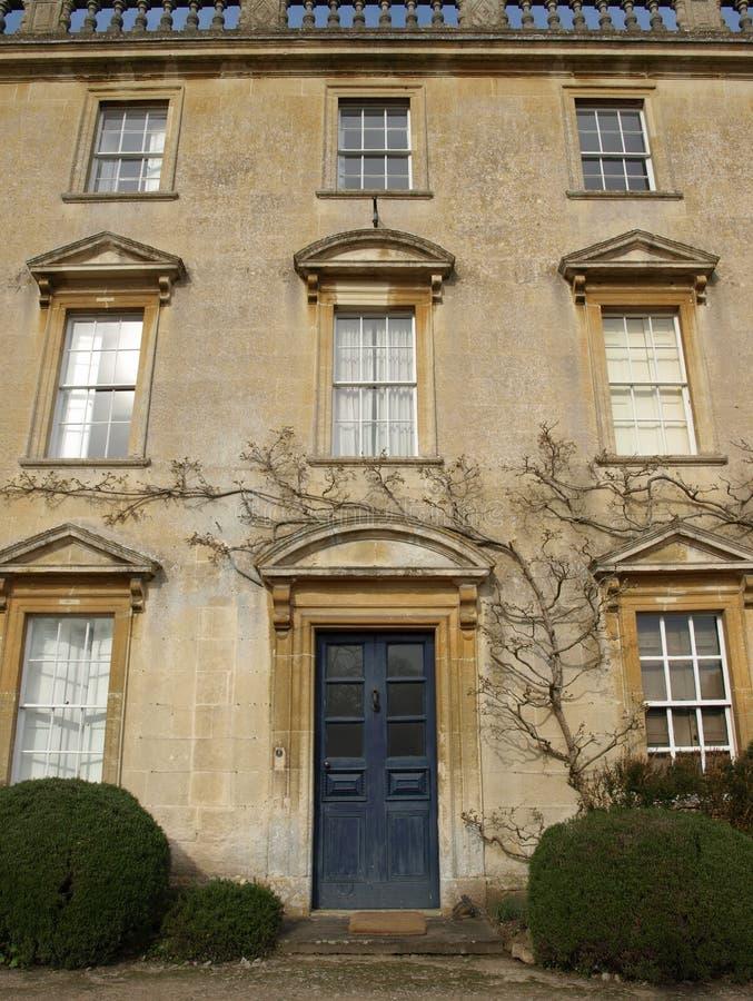 时代英王乔治一世至三世时期房子城&# 免版税库存图片