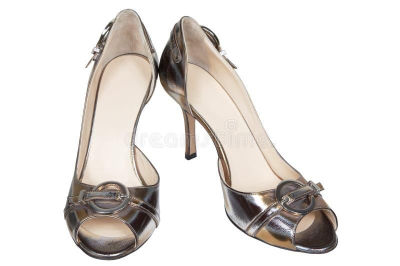 时兴的现代鞋子 免版税库存图片