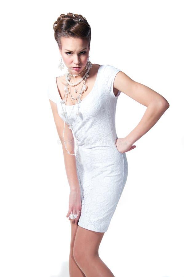 时尚新娘 库存图片