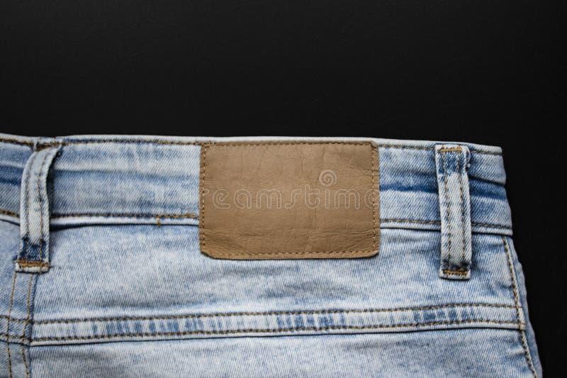 时尚标签标记纺织品图表设计师的大模型和模板设计 免版税库存图片
