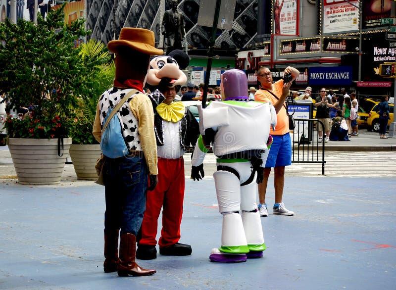 时报广场,纽约,NY,美国 图库摄影