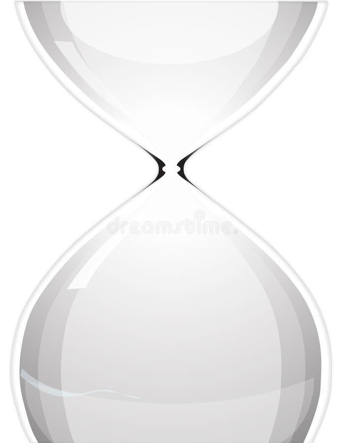 时数玻璃 向量例证