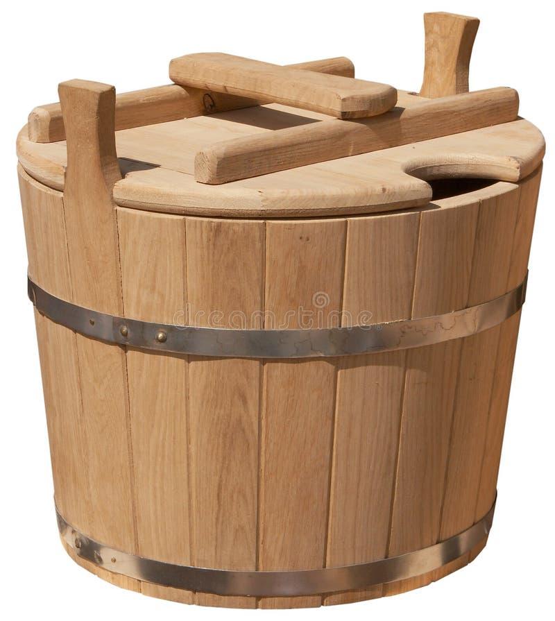 时段典雅手工制造查出的木 免版税库存照片