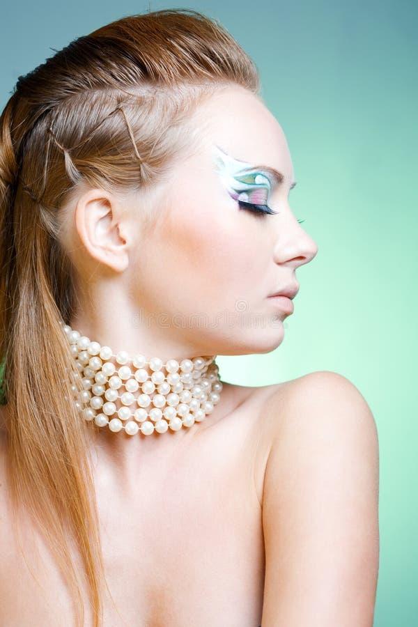 时装模特儿 图库摄影