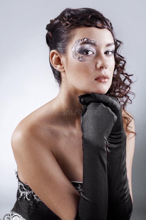 时装模特儿 免版税库存照片