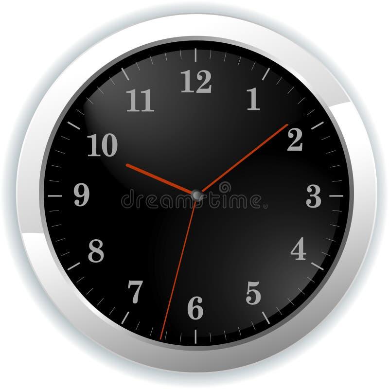 时钟例证墙壁 皇族释放例证