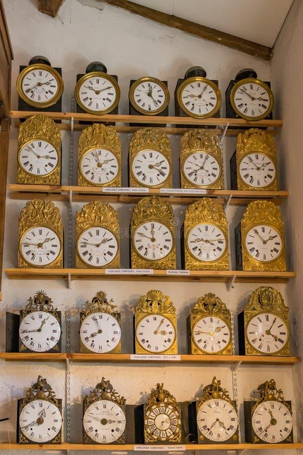 时钟和时间 库存照片