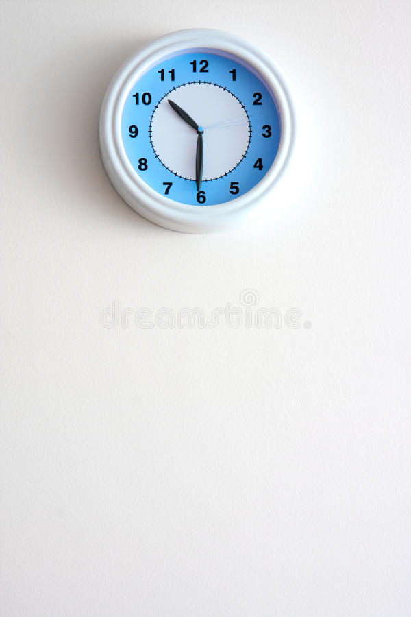 时钟墙壁 库存图片