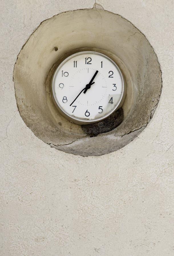 时钟墙壁 库存照片