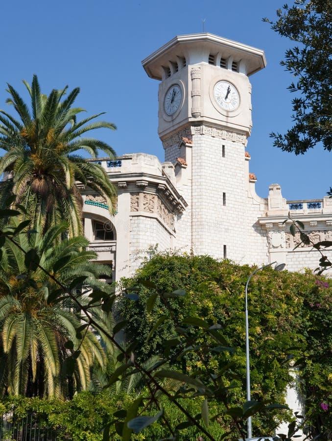 时钟好的塔 免版税库存照片