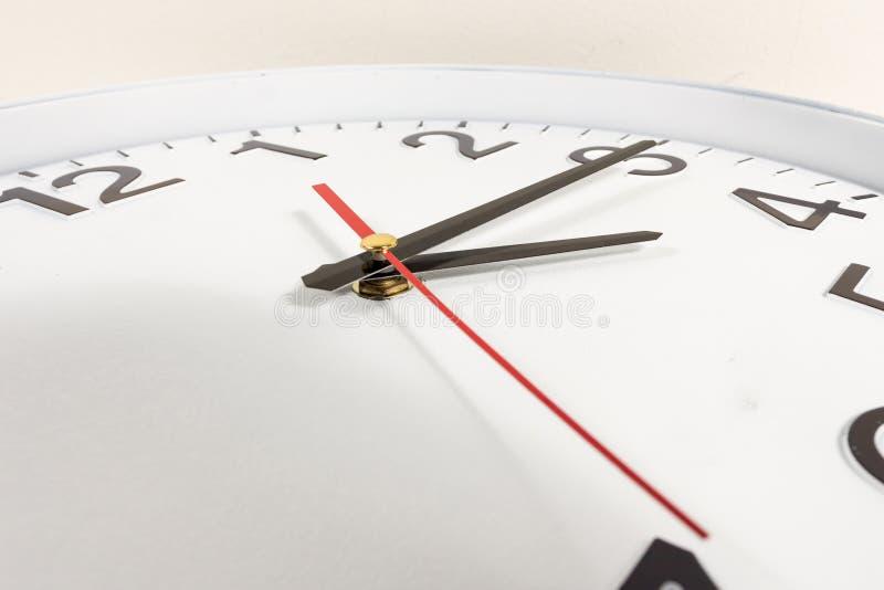 时钟或时间抽象背景 库存图片