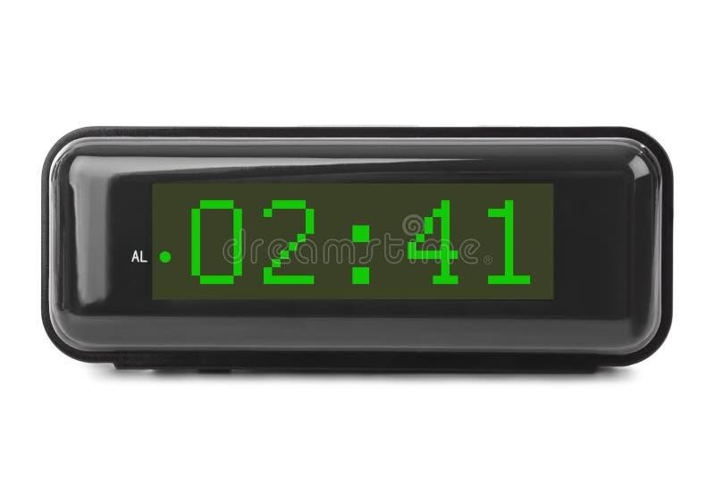 时钟数字式数字装载获得leds对多余 库存图片