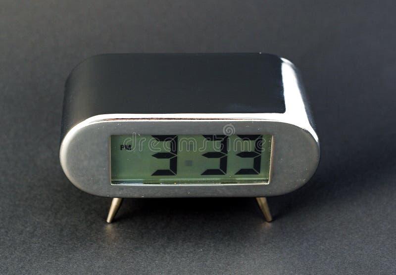 时钟数字式电子 图库摄影
