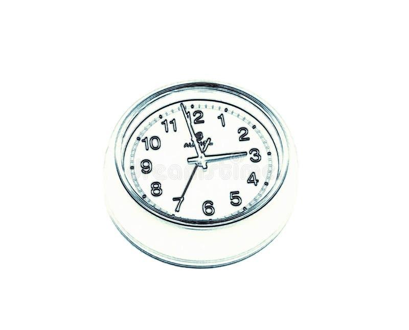 时钟数字,画 库存照片