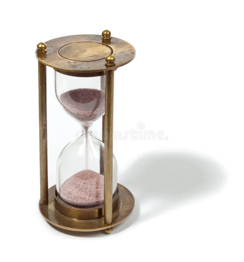 时钟沙子 免版税库存图片