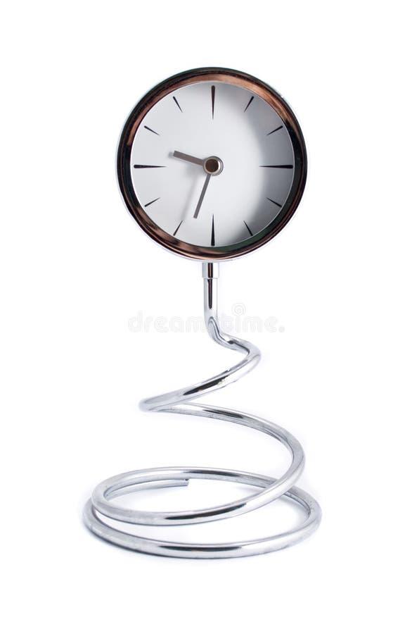 时钟漩涡 库存照片
