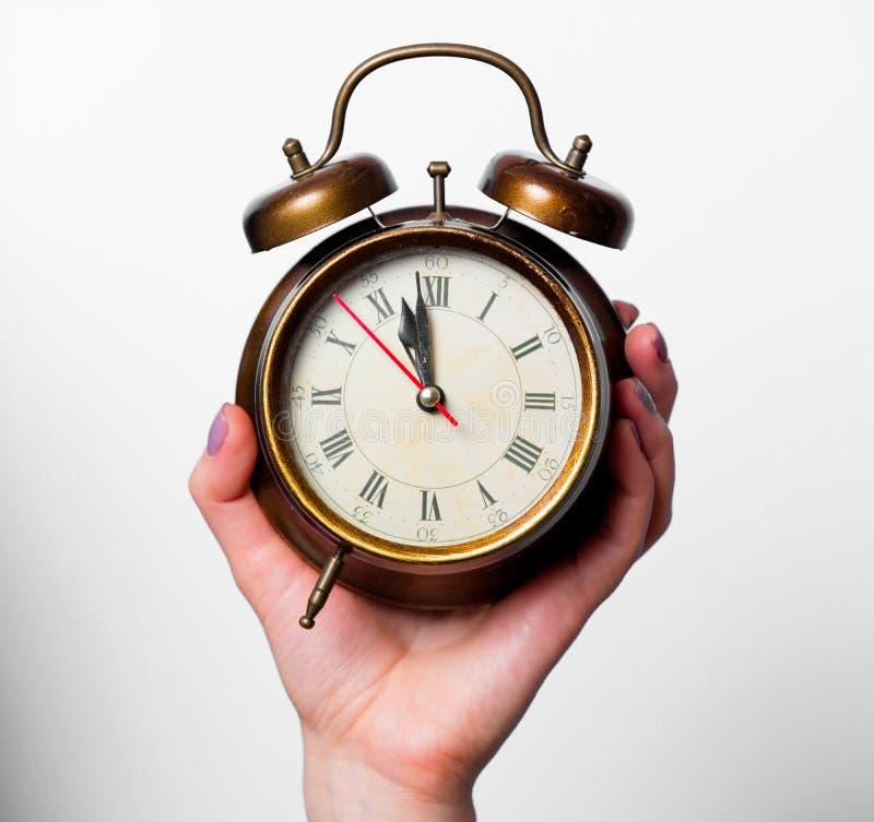 时钟的照片 免版税图库摄影