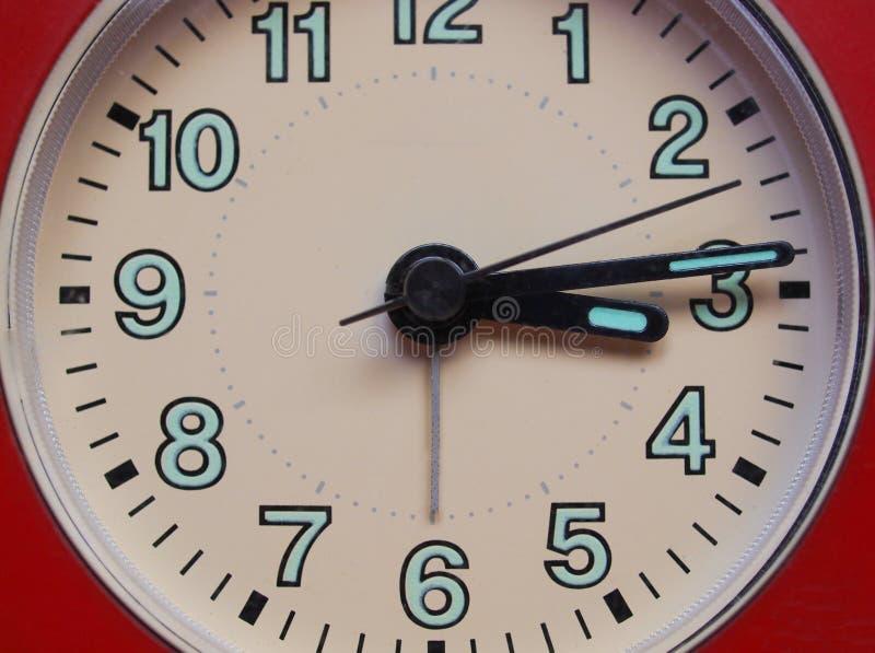 时钟的细节 库存图片