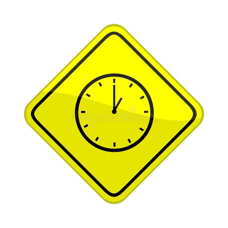 时钟符号 向量例证